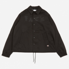 Facetasm Coach Jacket - Black