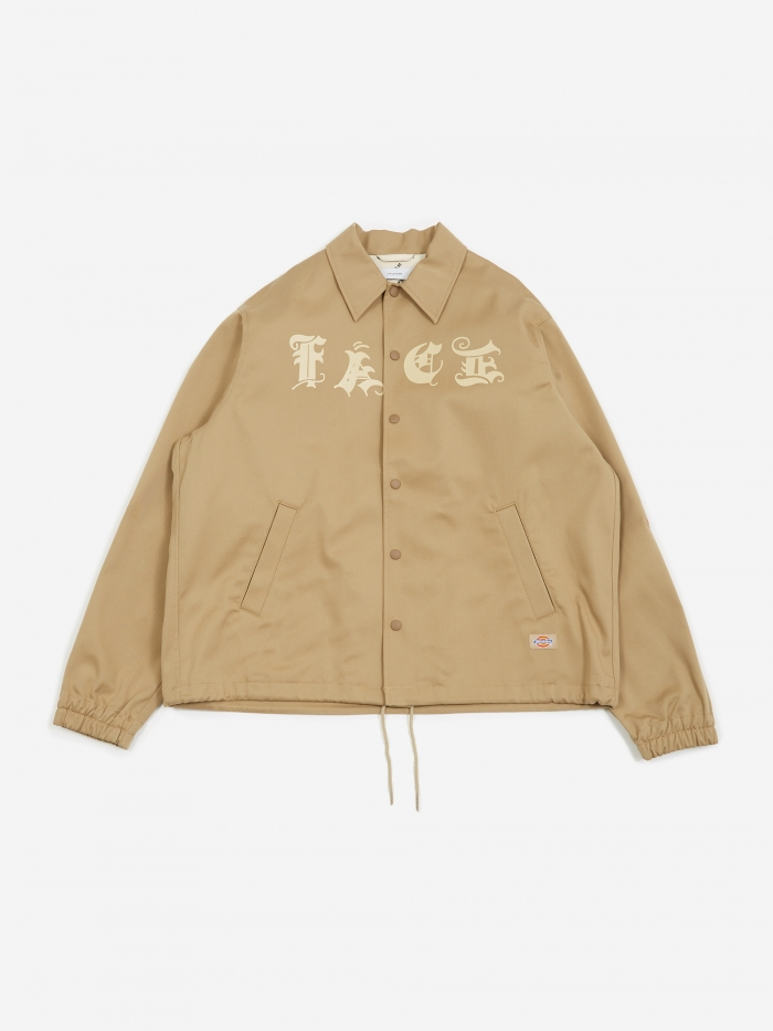 Facetasm Coach Jacket - Beige (Image 1)