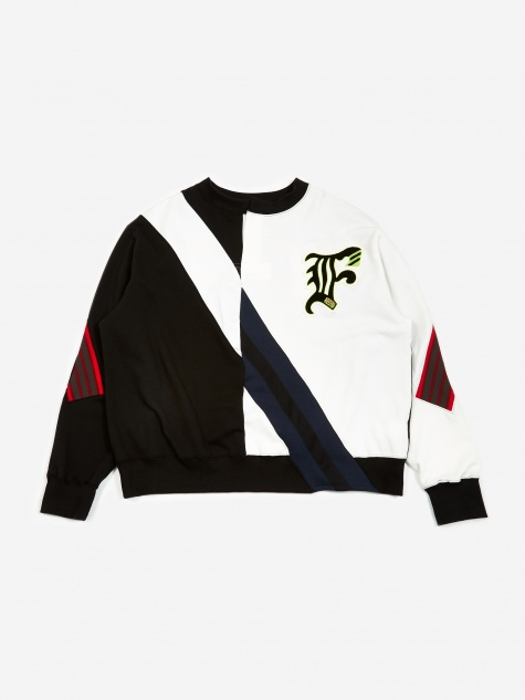 Split Sweatshirt - Off White