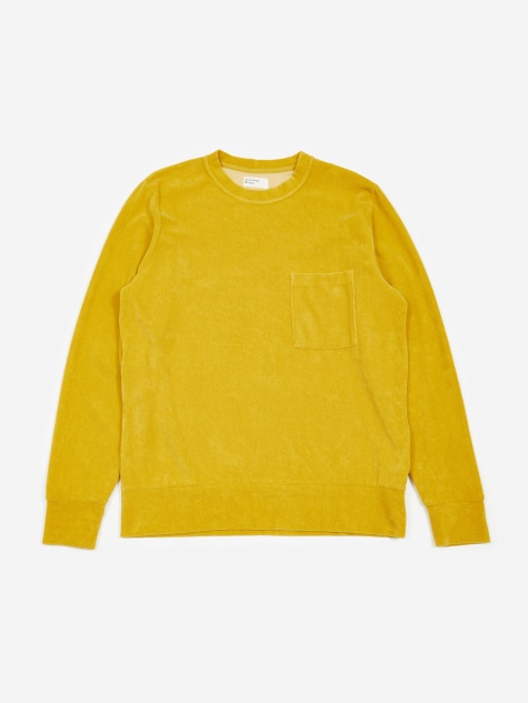 Loose Pullover Sweatshirt - Sunshine