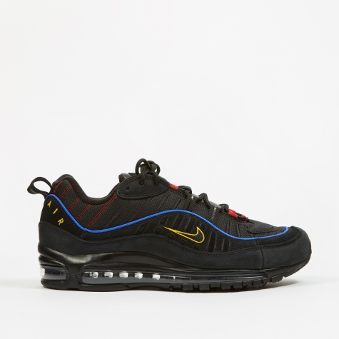 Air Max 98 - Black/Amarillo-University Red