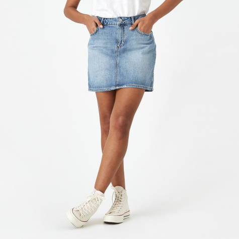 Camfield Denim Skirt - Bleached Denim