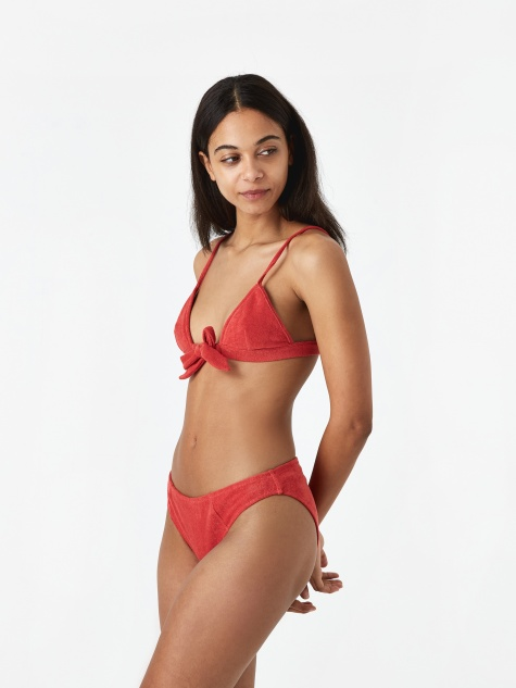 Fern Bikini Top - Baked Apple