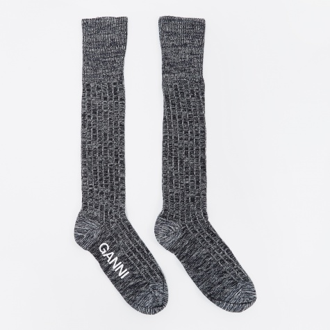 Classon Knitted Sock - Total Eclipse