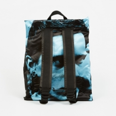 Eastpak x Raf Simons Poster Padded Backpack - Black Sat Boy L B