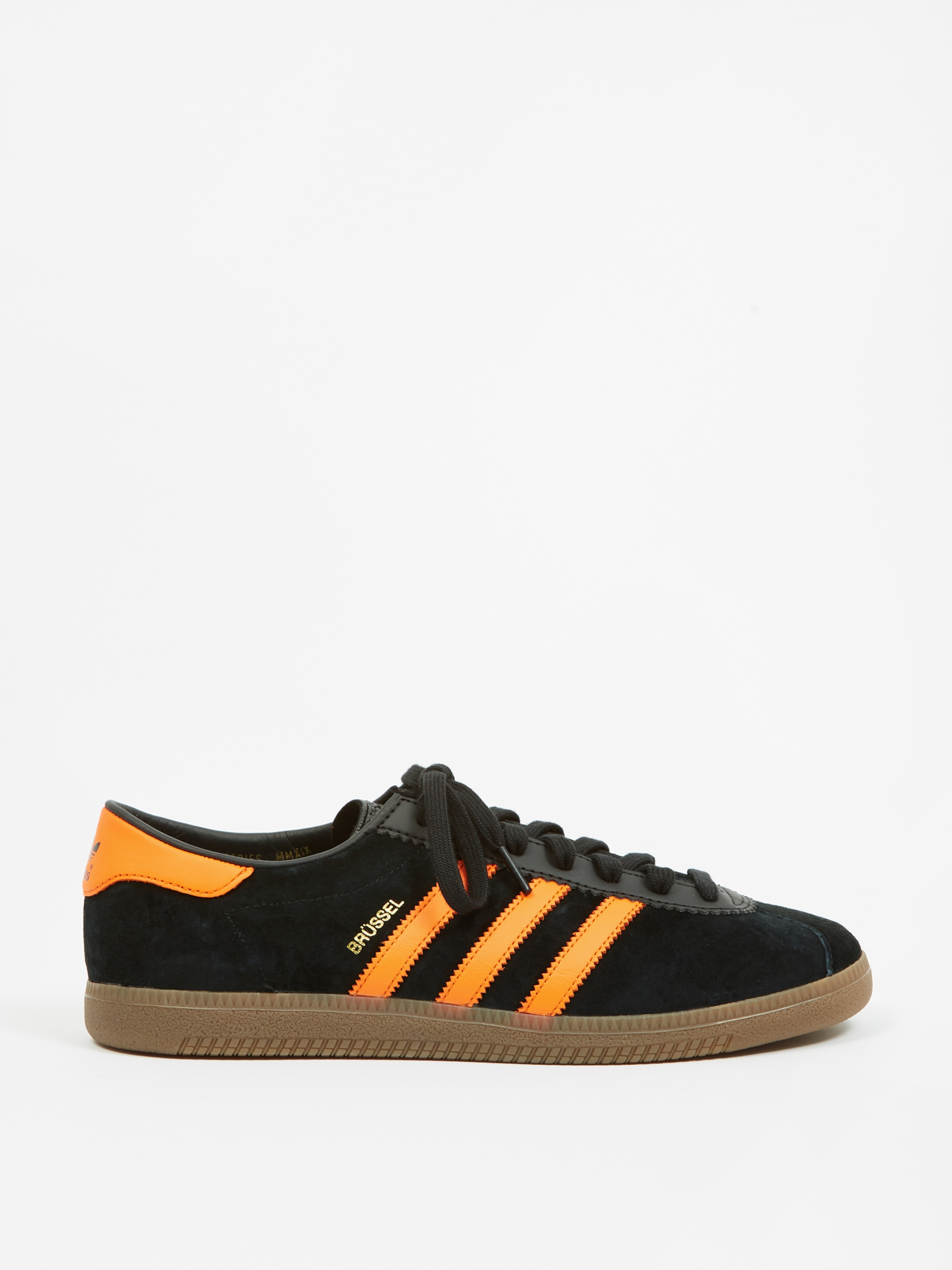official photos 71888 aa198 Adidas Brussels - Black Orange Gold