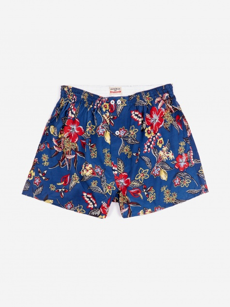 Boxer - Navy Floral