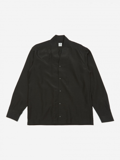 Big Wa-Neck Shirt - Black