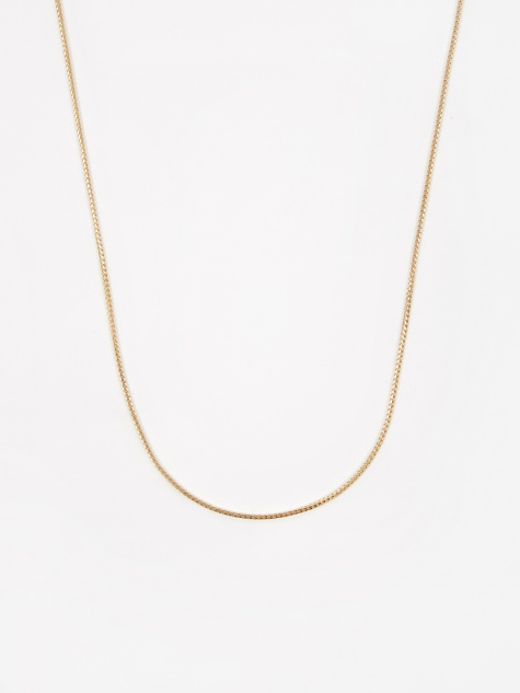 Franco Chain / Gold / 1.1mm Gauge / 50cm