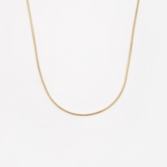 Goods by Goodhood Franco Chain / Gold / 1.1mm Gauge / 50cm
