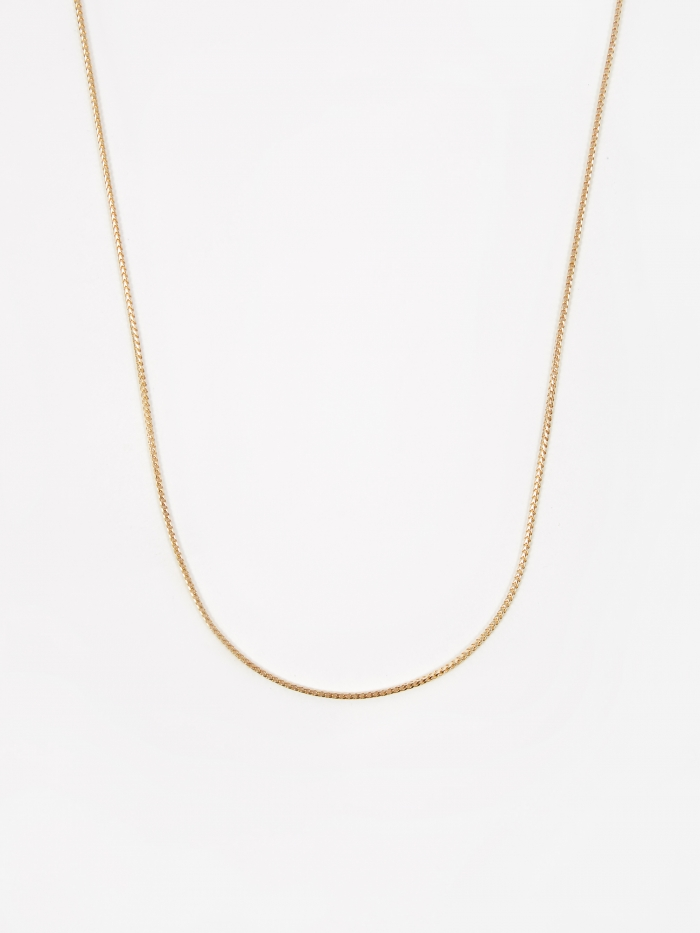Goods By Goodhood Franco Chain / Gold / 1.1mm Gauge / 50cm (Image 1)