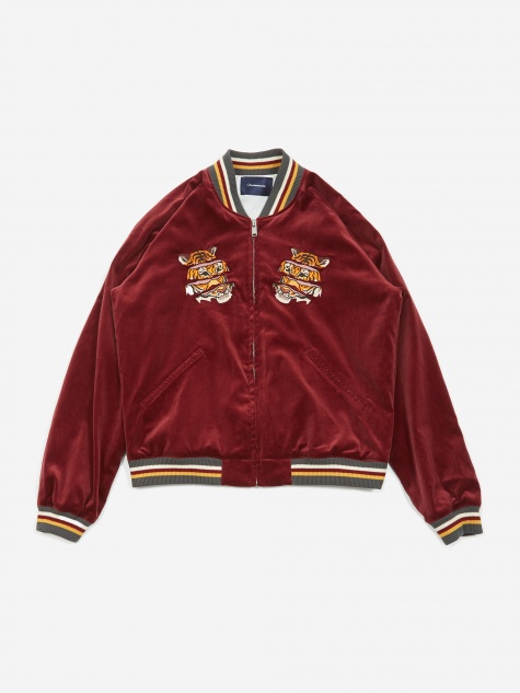 JohnUNDERCOVER Jacket - Bordeaux