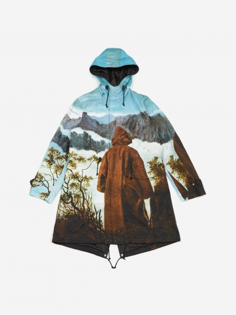 JohnUNDERCOVER Coat - Light Blue