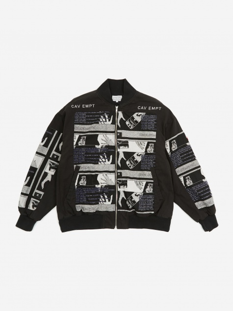 C.E Cav Empt Drudgery Zip Jacket - Black