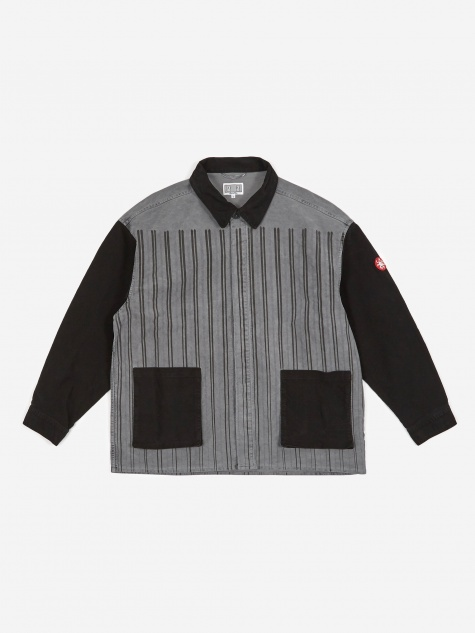 C.E Cav Empt Stripe Jacket - Grey