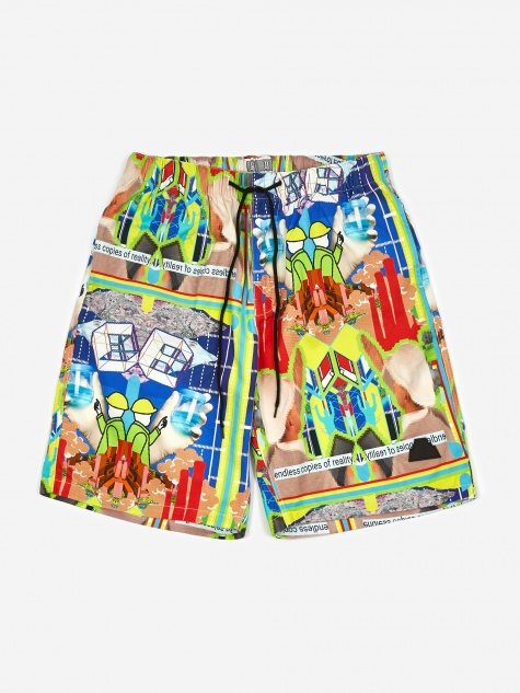 6bde5c2d88 C.E Cav Empt MD CopiEs Shorts - Multi