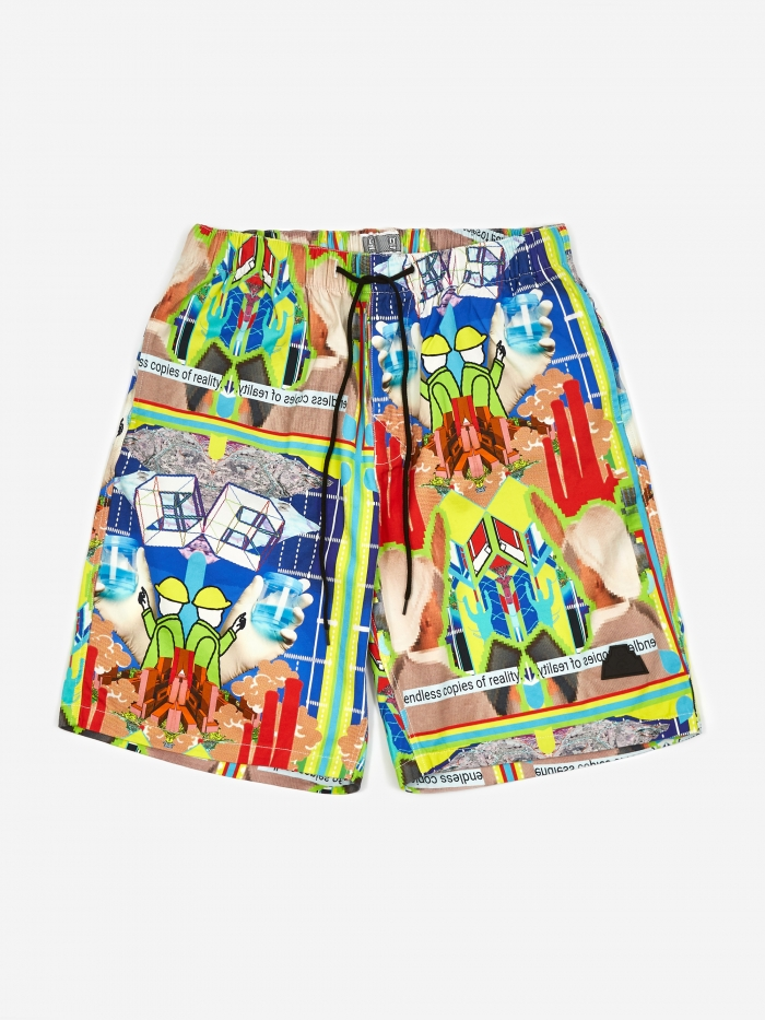 Cav Empt C.E Cav Empt MD CopiEs Shorts - Multi (Image 1)