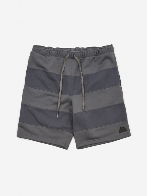 C.E Cav Empt Stripe Seam P/C Shorts - Grey