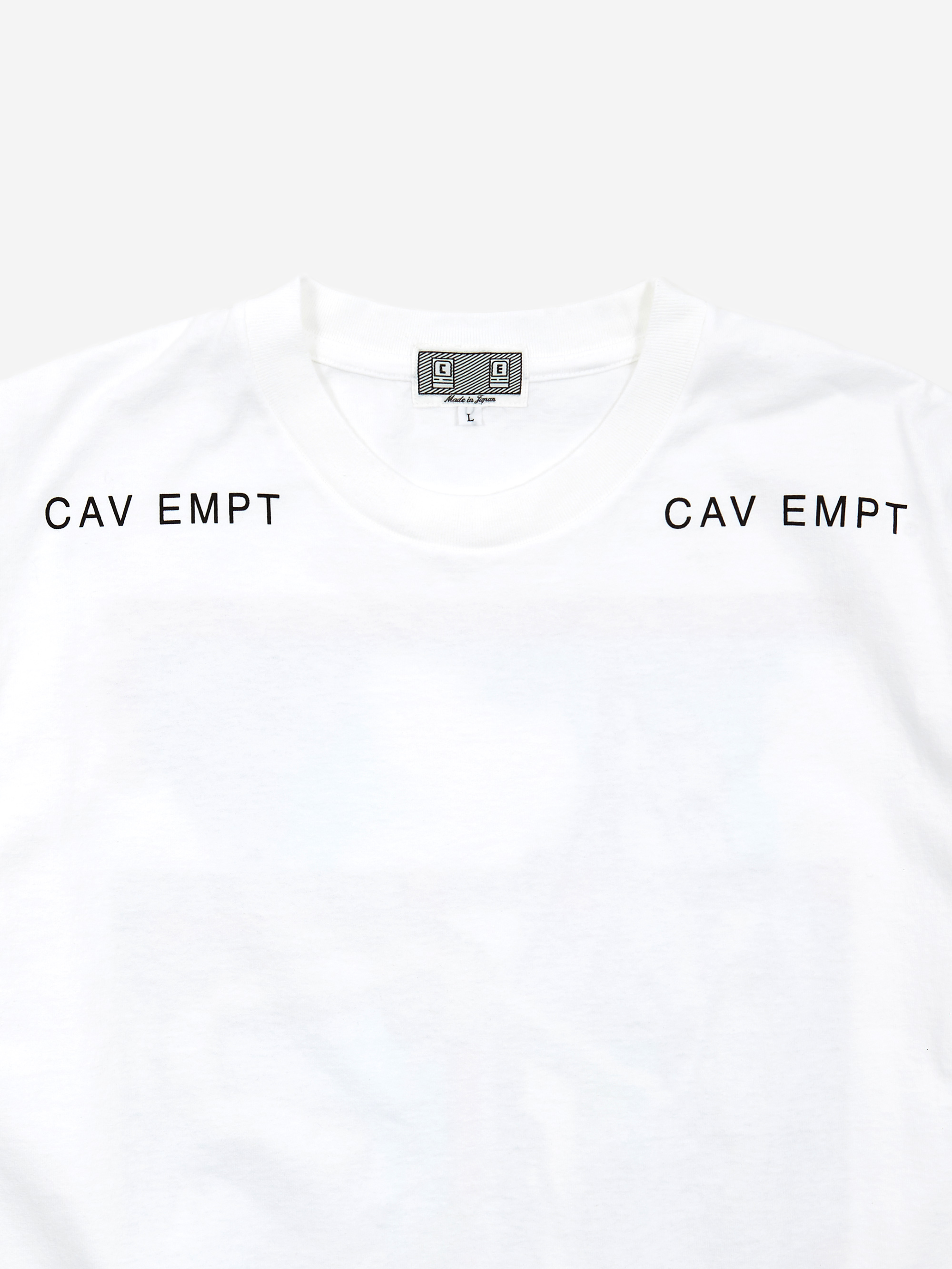 efef862614 C.E Cav Empt MD Metaphor T-Shirt - White