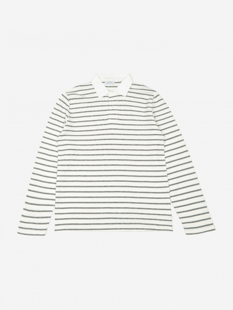 Sanders L/S Polo - Ivory