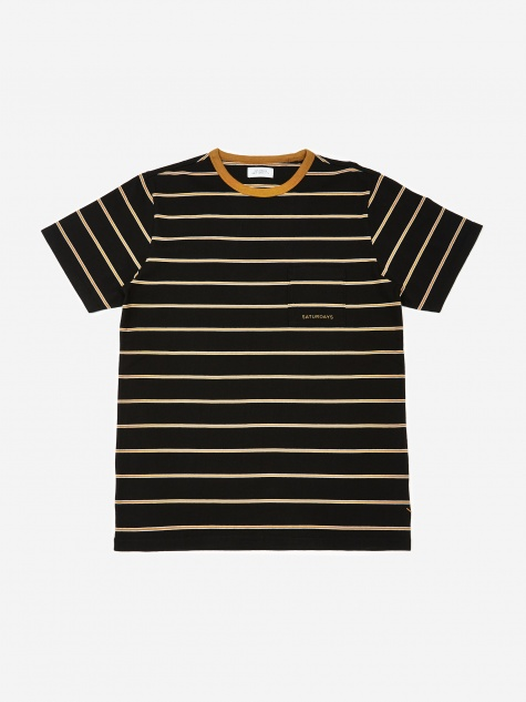 Randall Striped T-Shirt - Black