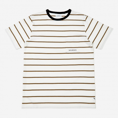 Randall Striped T-Shirt - White