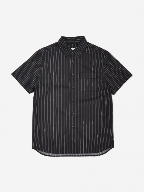 Nico Logo Stripe Shirt - Black