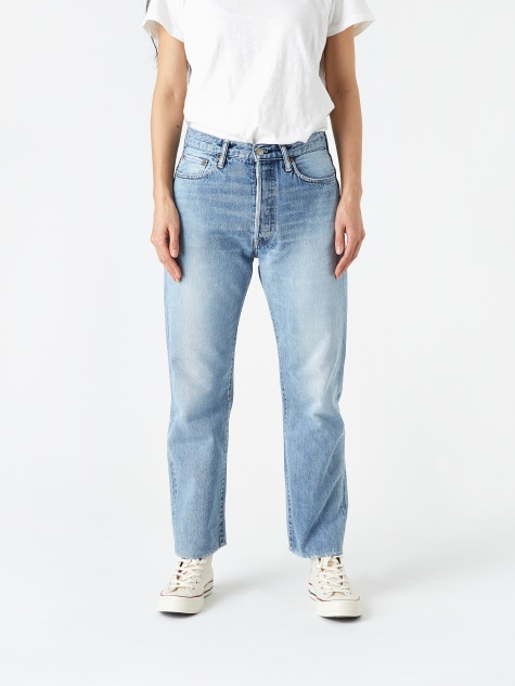 Straight Leg Jean - Bleach Indigo