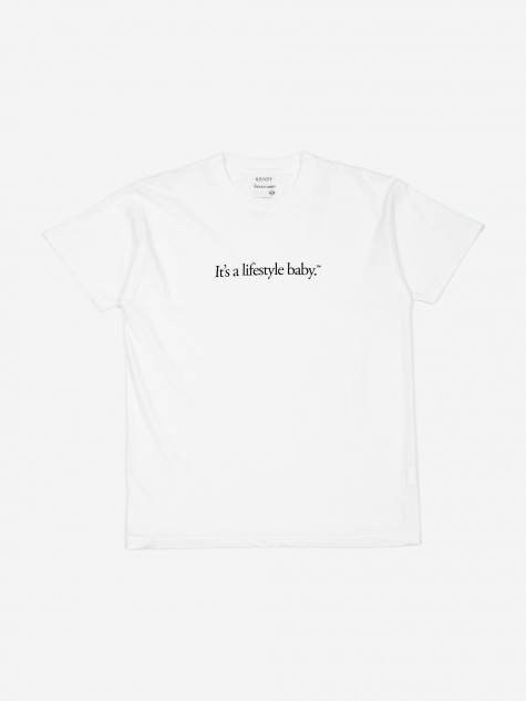 Lifestyle T-Shirt - White