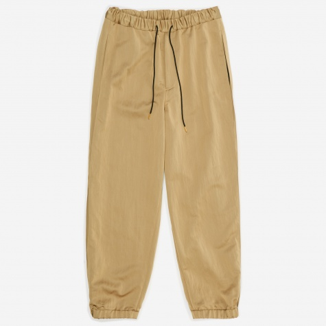 Shiny Ventilation Trouser - Gold
