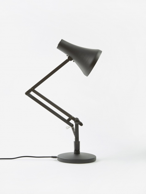 90 Mini Mini LED Desk Lamp - Carbon Black & Black