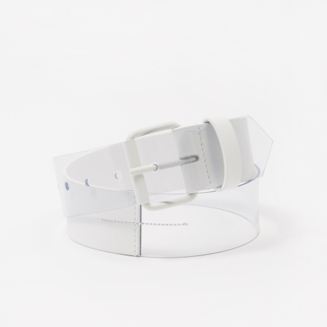 Transparent Belt - White