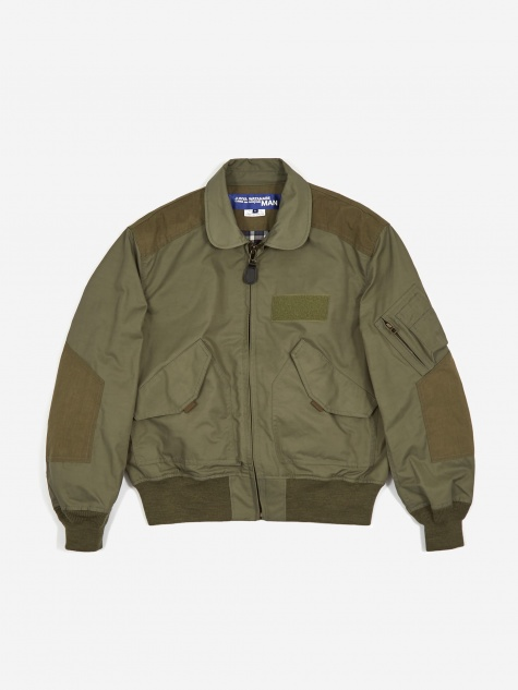 Junya Wantanabe MAN Zip Through Collared Jacket -