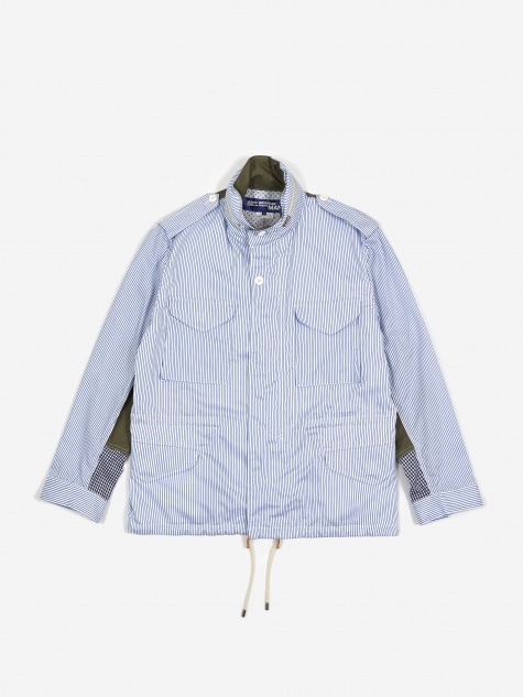 Junya Wantanabe MAN Field Jacket - White/Blue/Khak