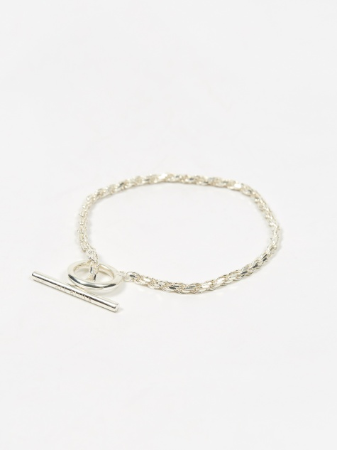 Rope Bracelet - Polished Sterling Silver