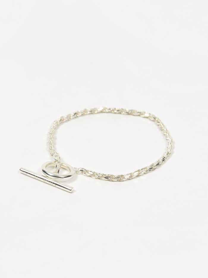 All Blues Rope Bracelet - Polished Sterling Silver (Image 1)