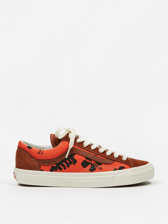 Vans VansVault x Modernica Style 36 LX - Leather Brown/Palm (Image 1)