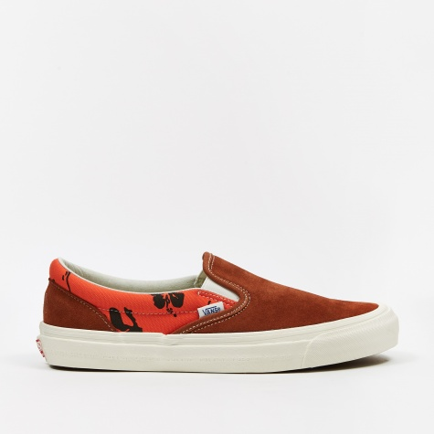 Vault x Modernica Classic Slip-On LX - Leather Brown/Palm