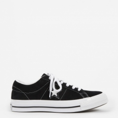 Converse One Star Ox - Black/White