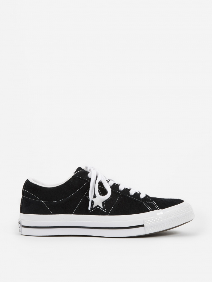 Converse One Star Ox - Black/White (Image 1)