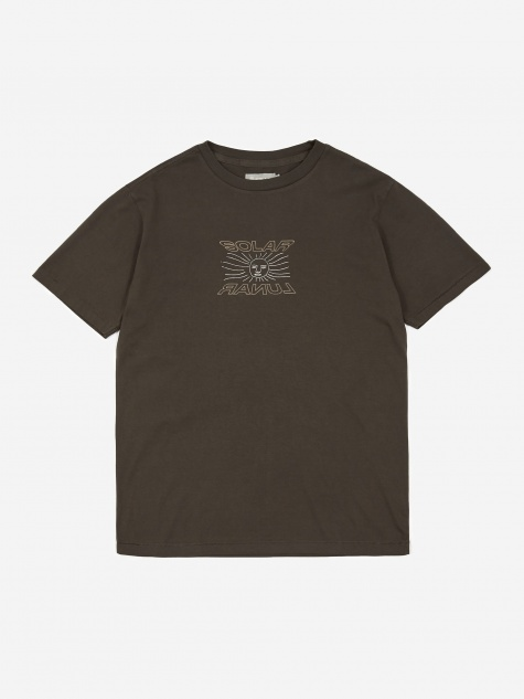 Solar Lunar T-Shirt - Washed Black