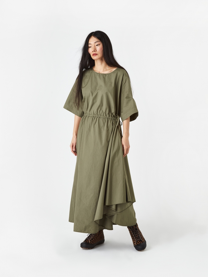 Barena Adelaide Dress - Army (Image 1)