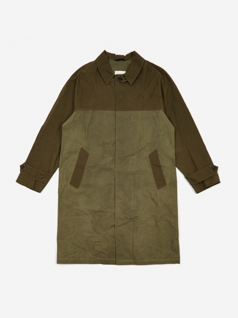 French Military Coat - Olive Green