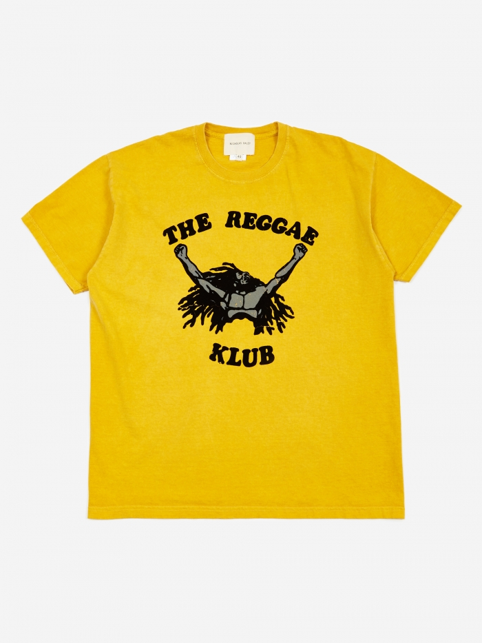 Nicholas Daley Reggae Klub T-Shirt - Yellow (Image 1)