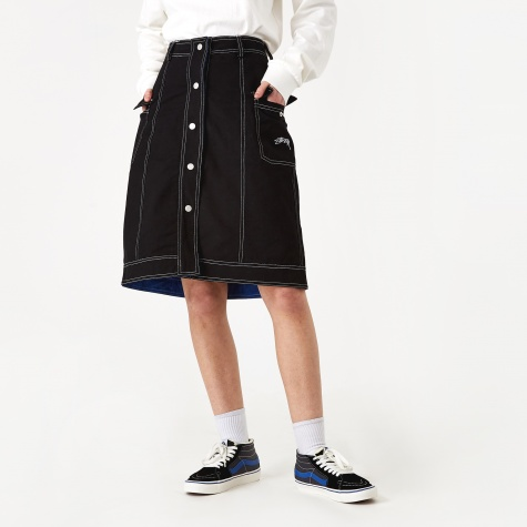 Clyde Reversible Skirt - Black