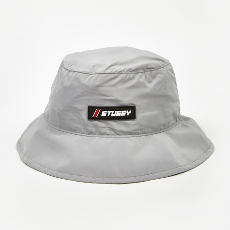 Reena Clean Tech Bucket Hat - Silver
