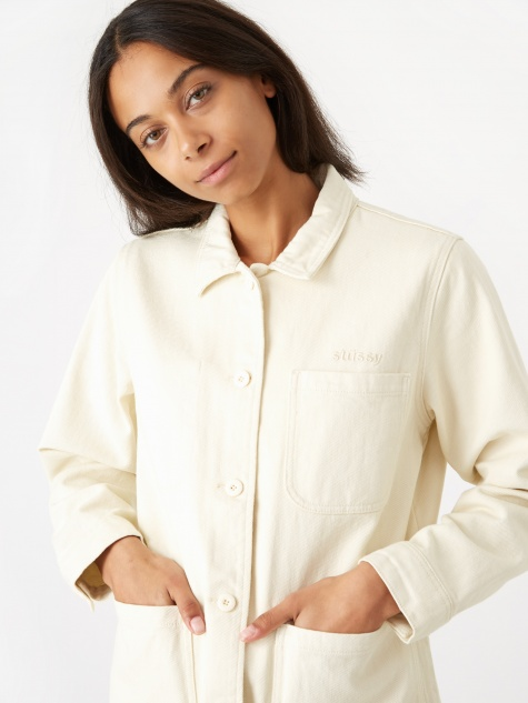 Aurora Washed Chore Jacket - Natural 792961753