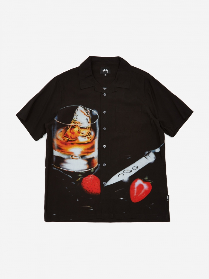 Cocktail Shirt   Black by Stussy