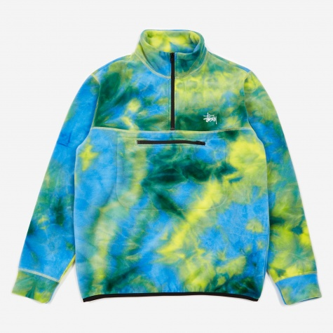 Polar Fleece Mock Neck - Tie-Dye