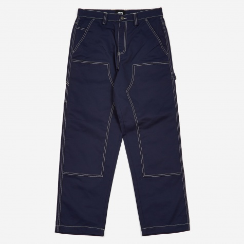 Poly Cotton Work Pant - Navy